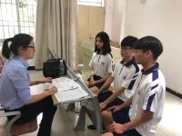 广州市土地房产管理职业学校16级电商专业校园招聘会