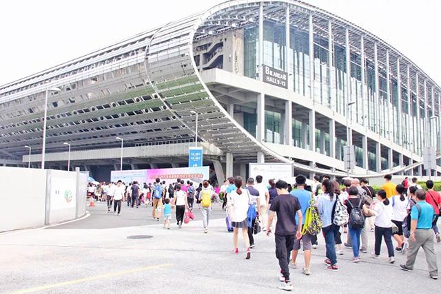 广州市公用事业技师学院2019年高招会展学院风采