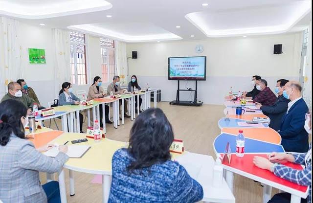 市中小学卫生健康促进中心领导莅临广州市财经职业学校指导疫情防