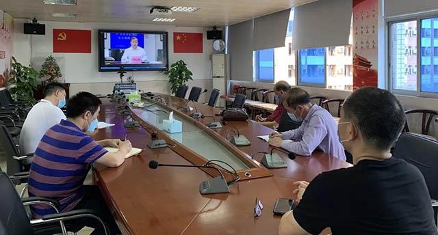广州市轻工职业学校组织参加消防安全工作视频会议