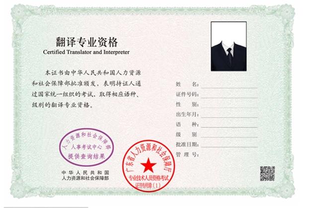 专业技术人员职业资格考试电子合格证明版面